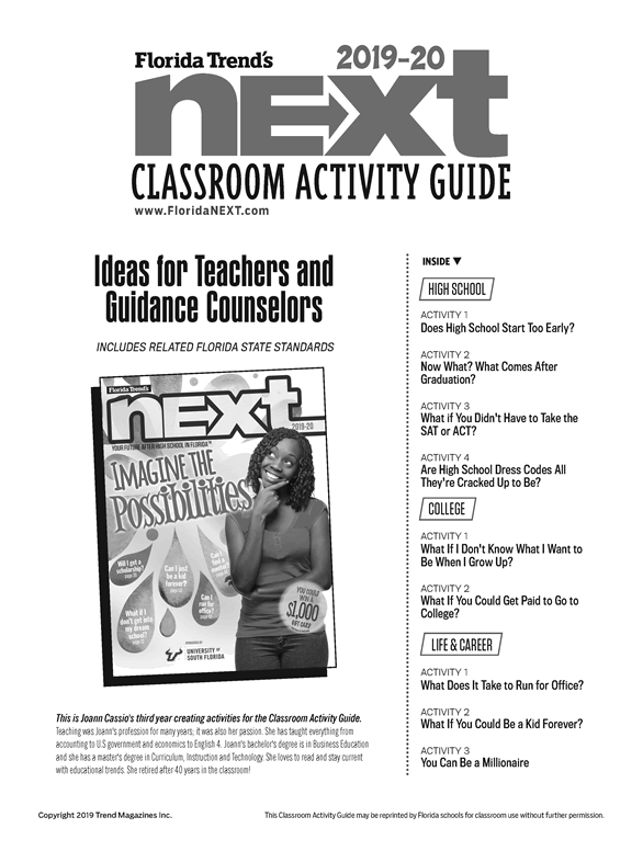Classroom Activity Guide 2019-2020